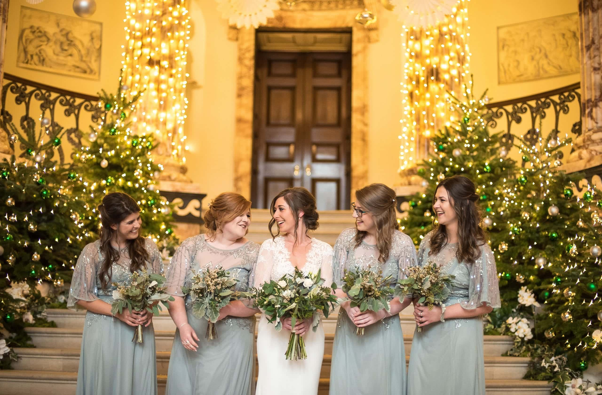 Bride tribe at Holkham Hall Weddings