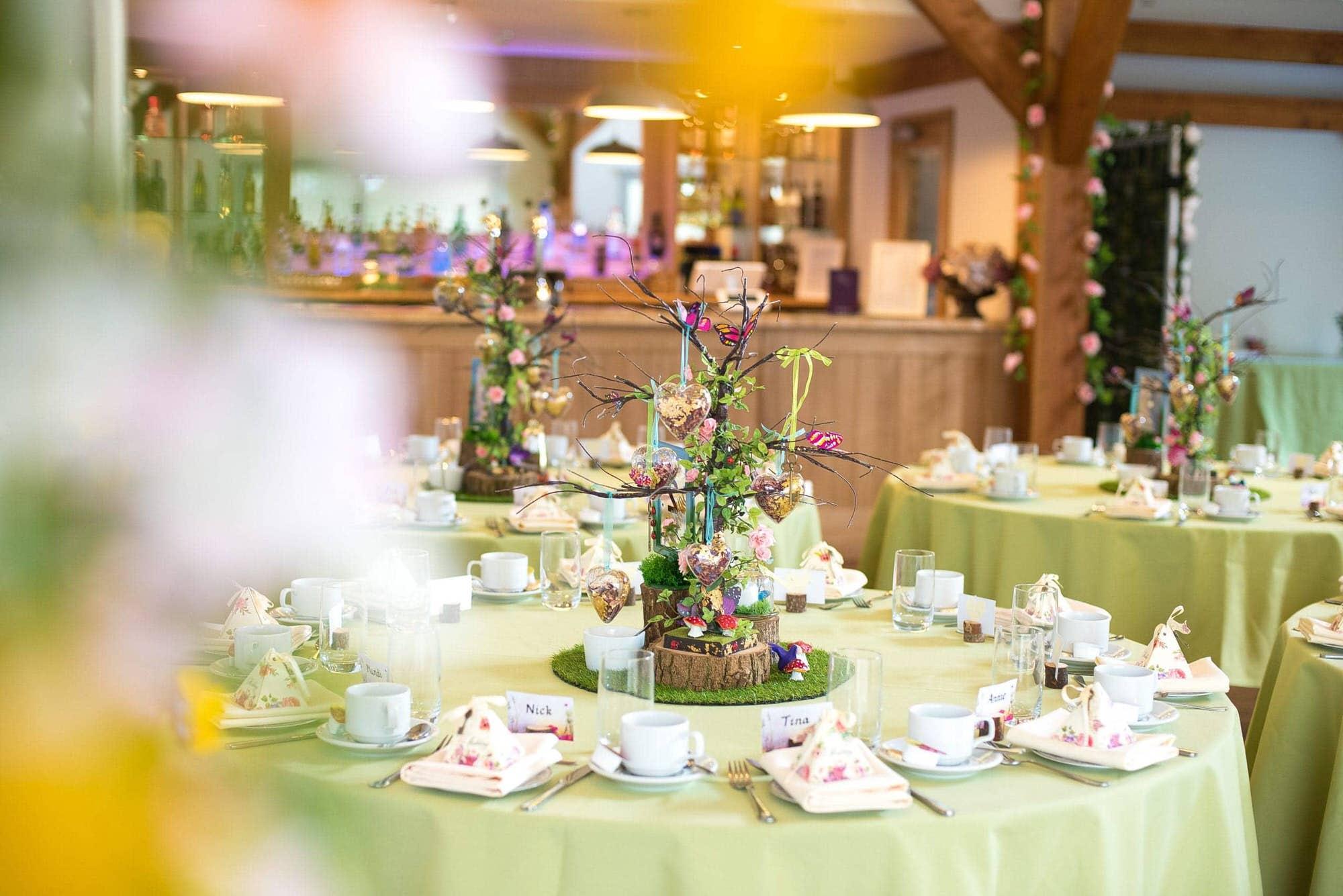 Wedding Breakfast at Bawburgh Golf club