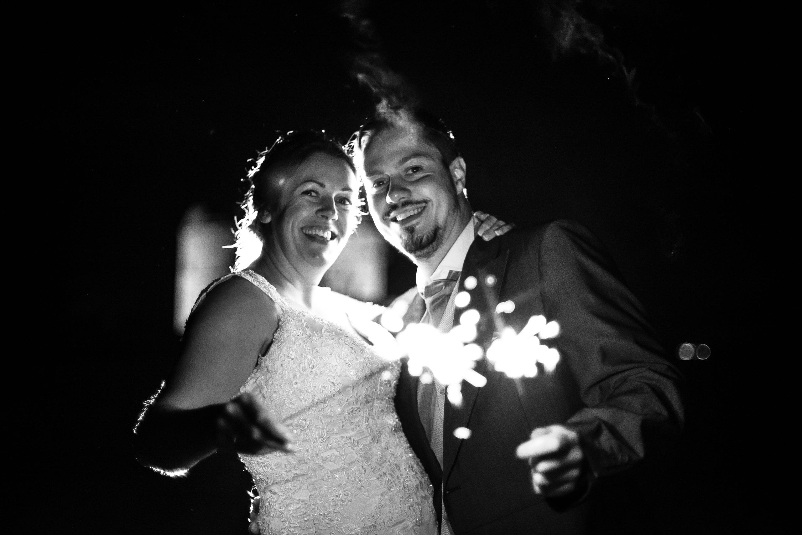 Sparkler Shot at Pendennis Castle