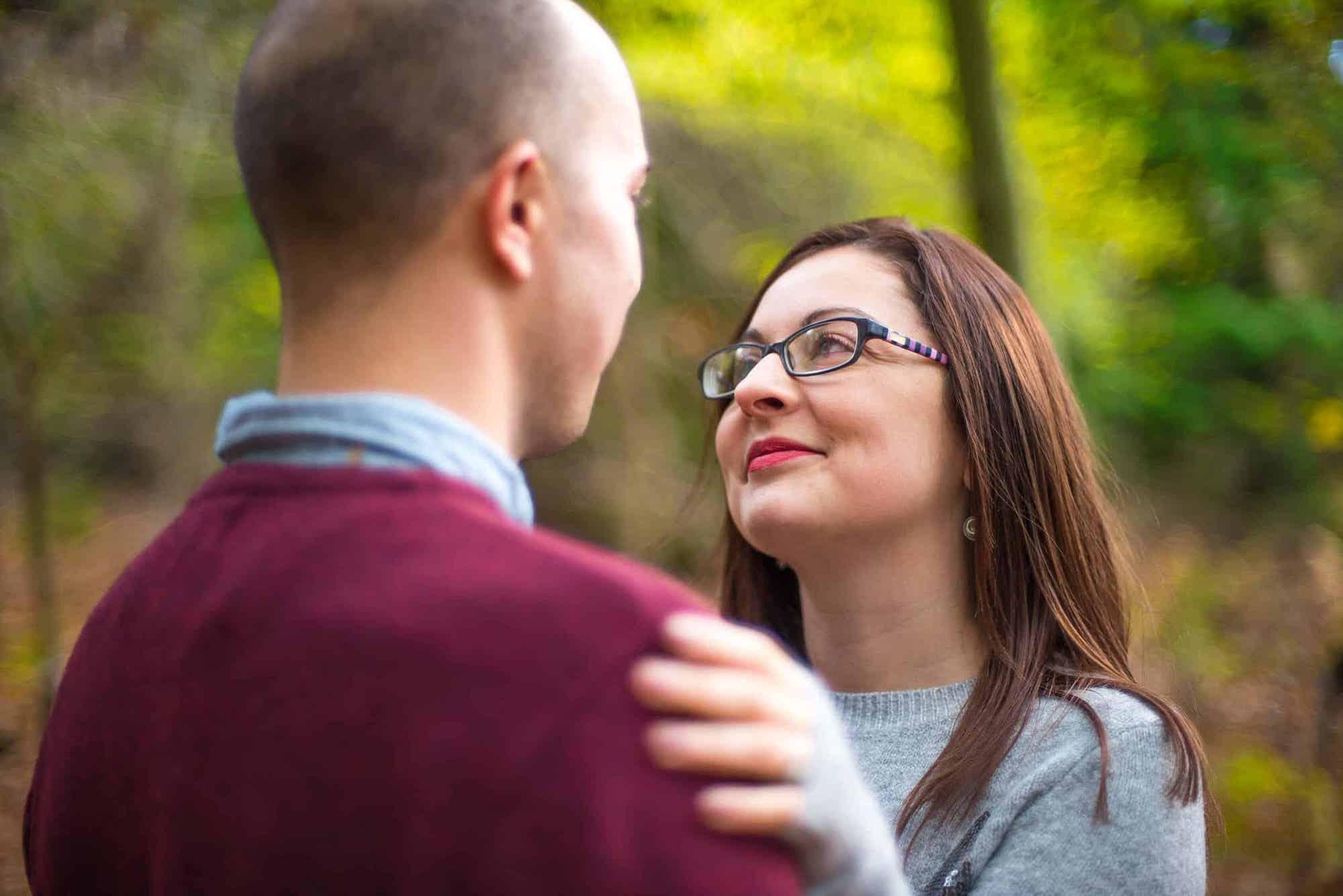 engaged couple norfolk photo shoot