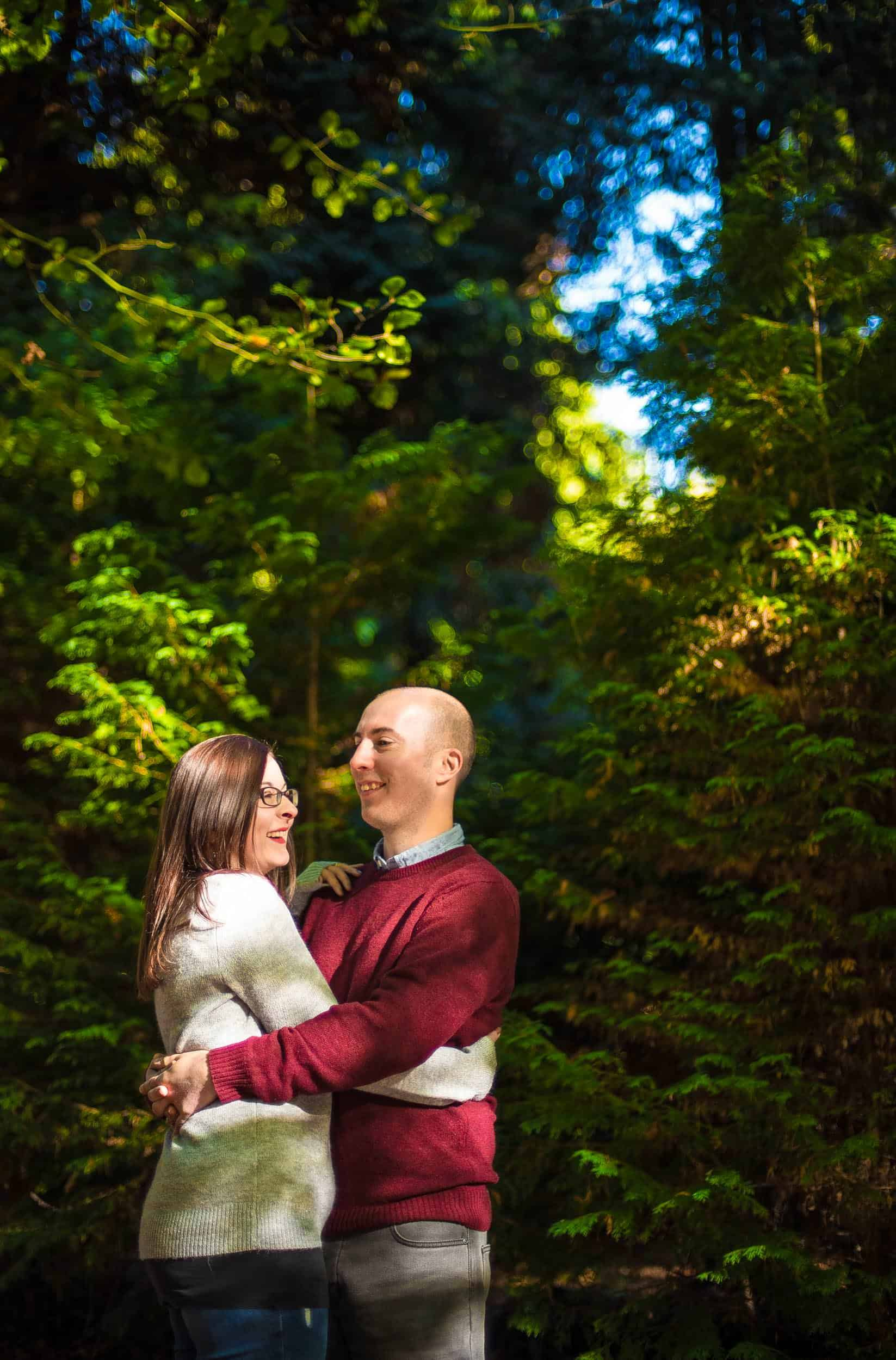 autumn pre wedding photo shoot